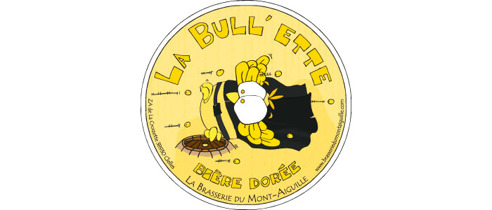 La Bull'ette Bière dorée - 6.5° Citée Au guide Hachette des Bières Bière à tendance ch'ti, sa douceur et ses notes fruitées lui donnent une rondeur agréable.