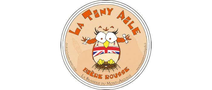 Tiny Aile Jolie Rouquine - 3.8° ★★ Au guide Hachette des Bières  Bière rousse légère, houblonnés, typiquement anglaise. Aucun compromis entre goût et légèreté.