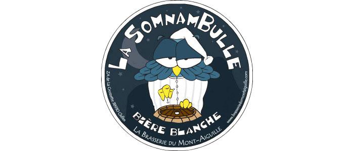 La Somnambulle Bière Blanche - 5°  Nouvelle recette 2016, vous apprécierez sa légèreté et sa fraîcheur. Une vraie blanche avec des notes d'agrumes!