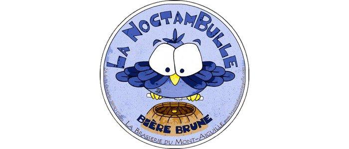 La Noctambulle Bière Brune - 6°  ★ Au guide Hachette des Bières  Laissez-vous surprendre par ses parfums de malt grillé.